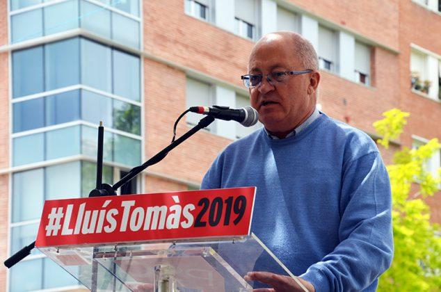 Acte electoral del PSC. Lluís Tomás
