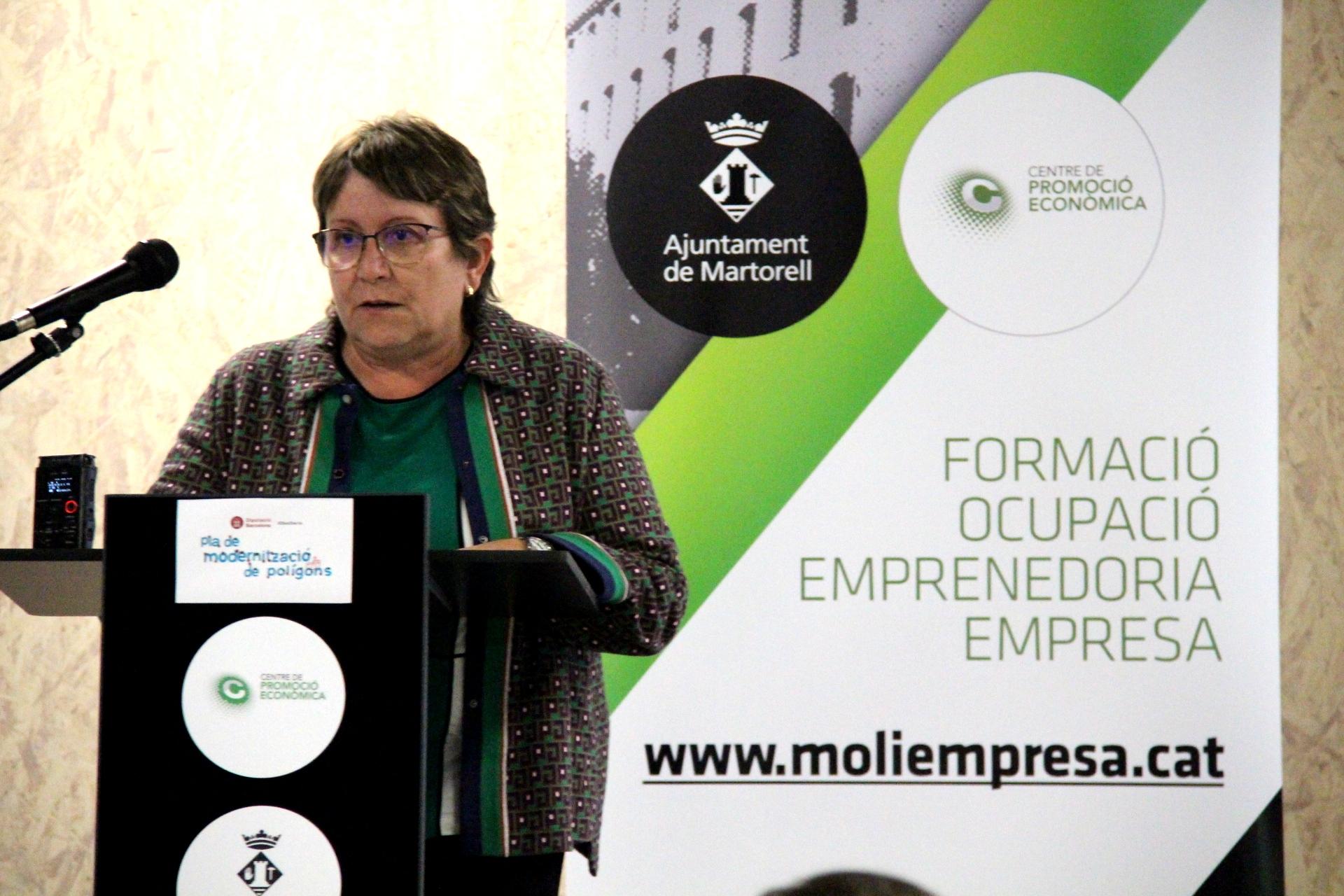Rosa Serra, coordinadora Àrea Desenvolupament Econòmic Local Diputació de Barcelona