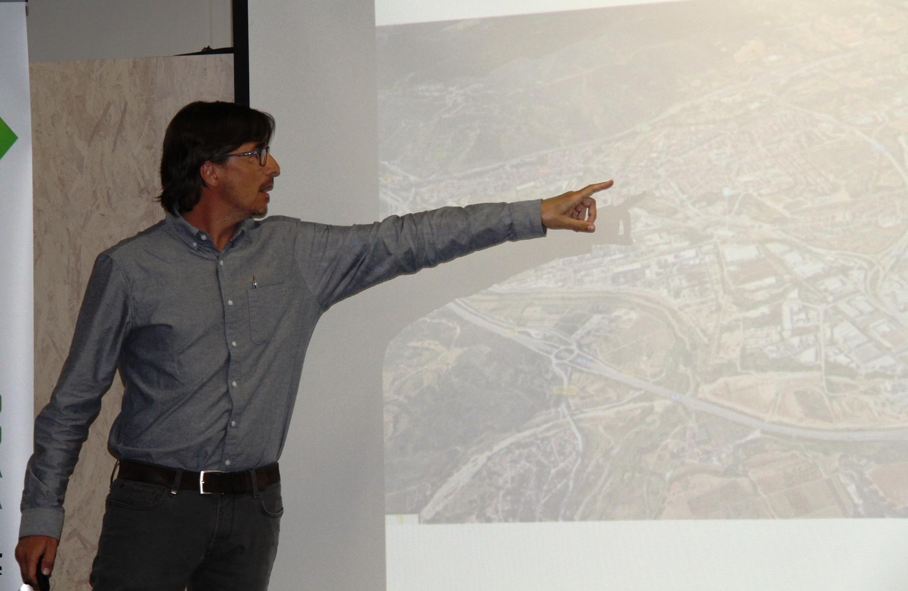 Rodrigo Alaminos, gerent de l'Ajuntament de Martorell i arquitecte municipal