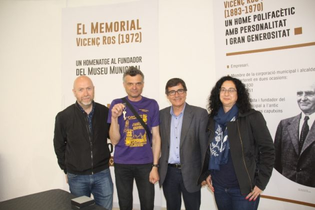 Memorial Vicenç Ros. Lliurament de claus a Josep Segura