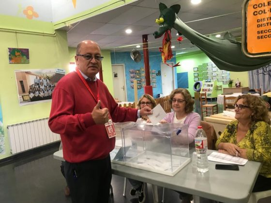 Lluís Tomàs, candidat PSC