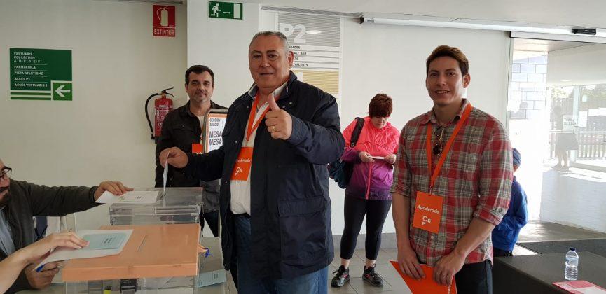 Juan José Pérez, candidat Ciutadans