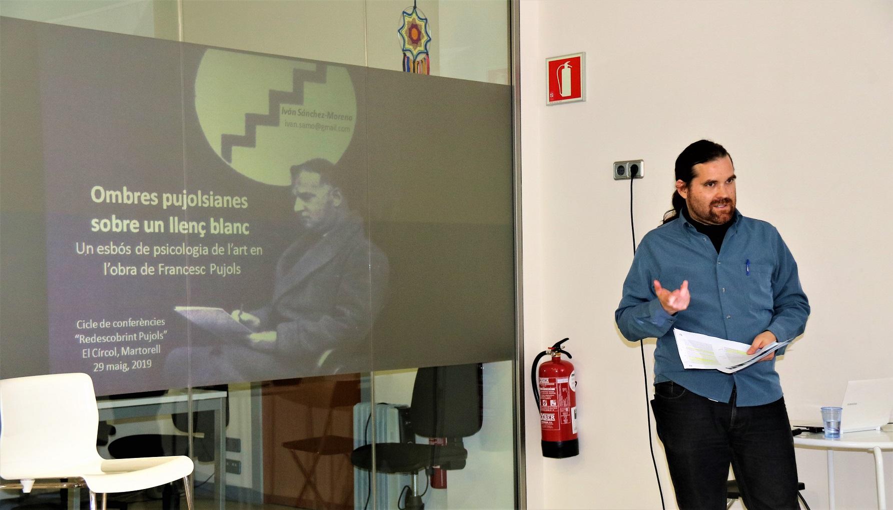 'Redescobrint Pujols'. Conferència Iván Sánchez