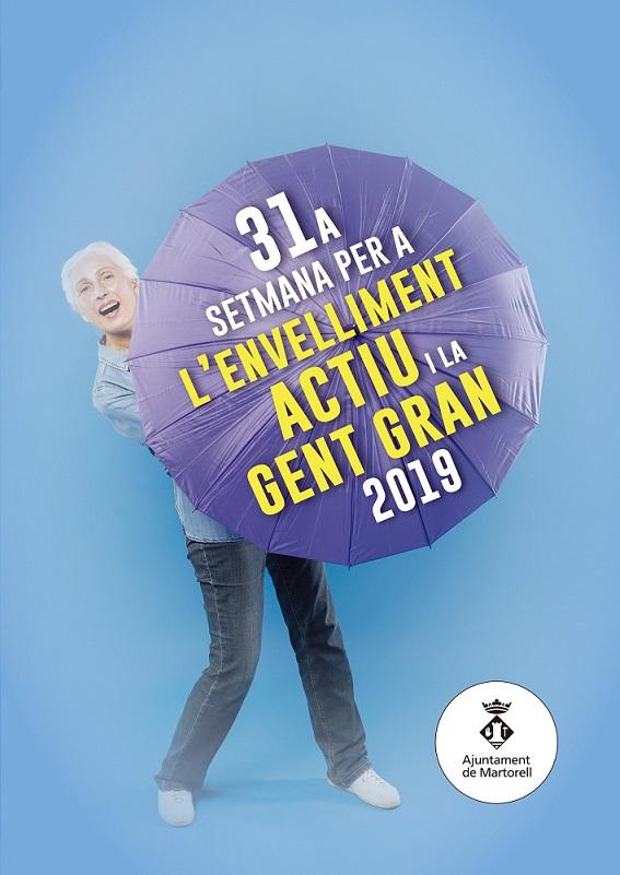 31a Setmana per a l'Envelliment Actiu i la Gent Gran 2019