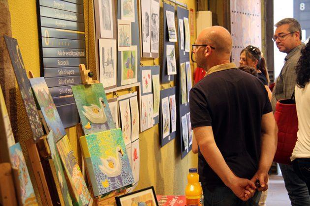 Exposició de final de curs de l'Aula d'Art