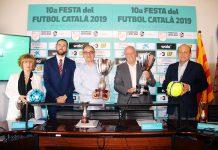 Presentació de la 10a festa del Futbol Català