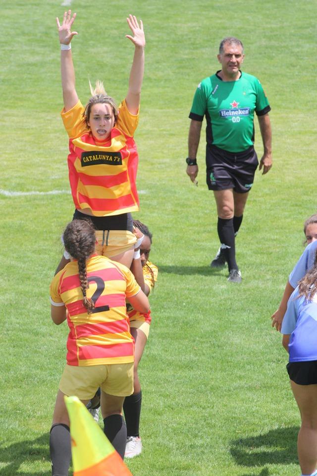 Helena Escudero, jugadora Rugby Club Martorell