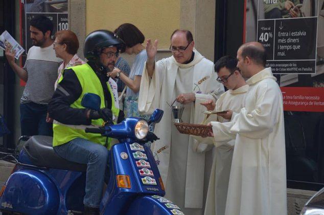 Benedicció de Sant Cristòfol de l'AMCAM. (Fotografia: AMCAM)
