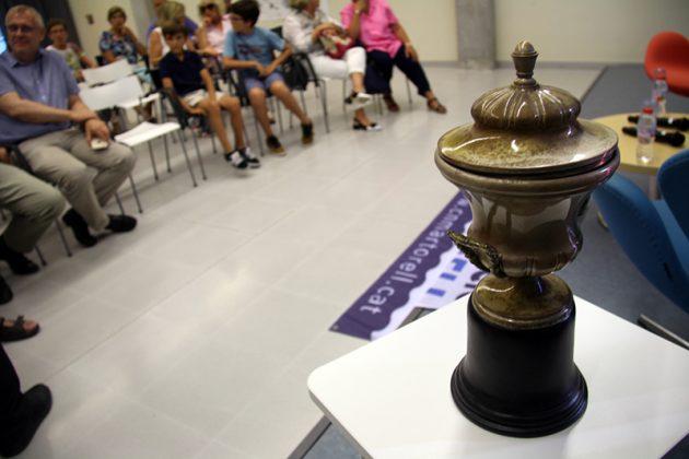 Presentació de 'XX Campeonatos de España de Waterpolo 1950', d'Agustí Riera