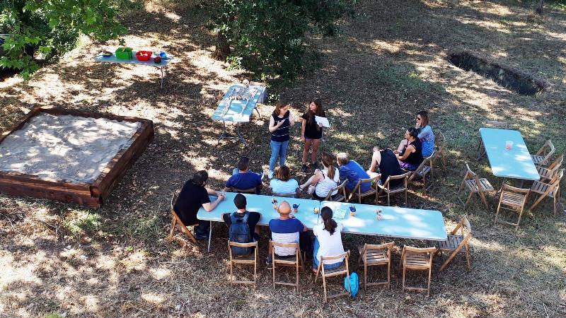 Arqueòlegs per un dia, taller de Museus de Martorell