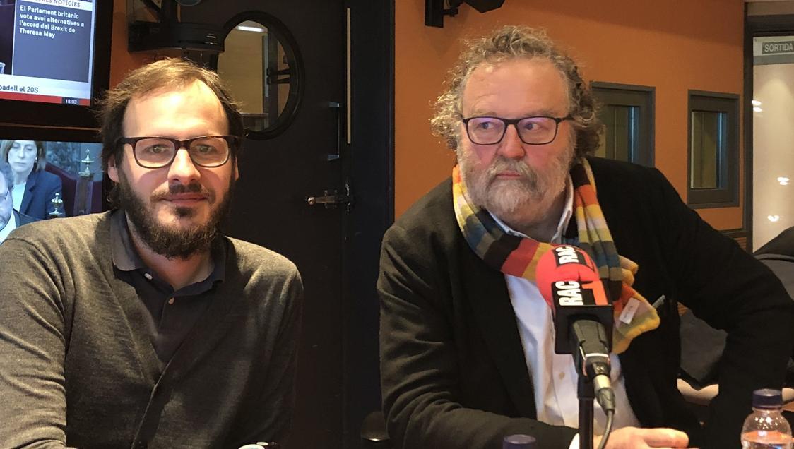 Oriol Malet i John Carlin