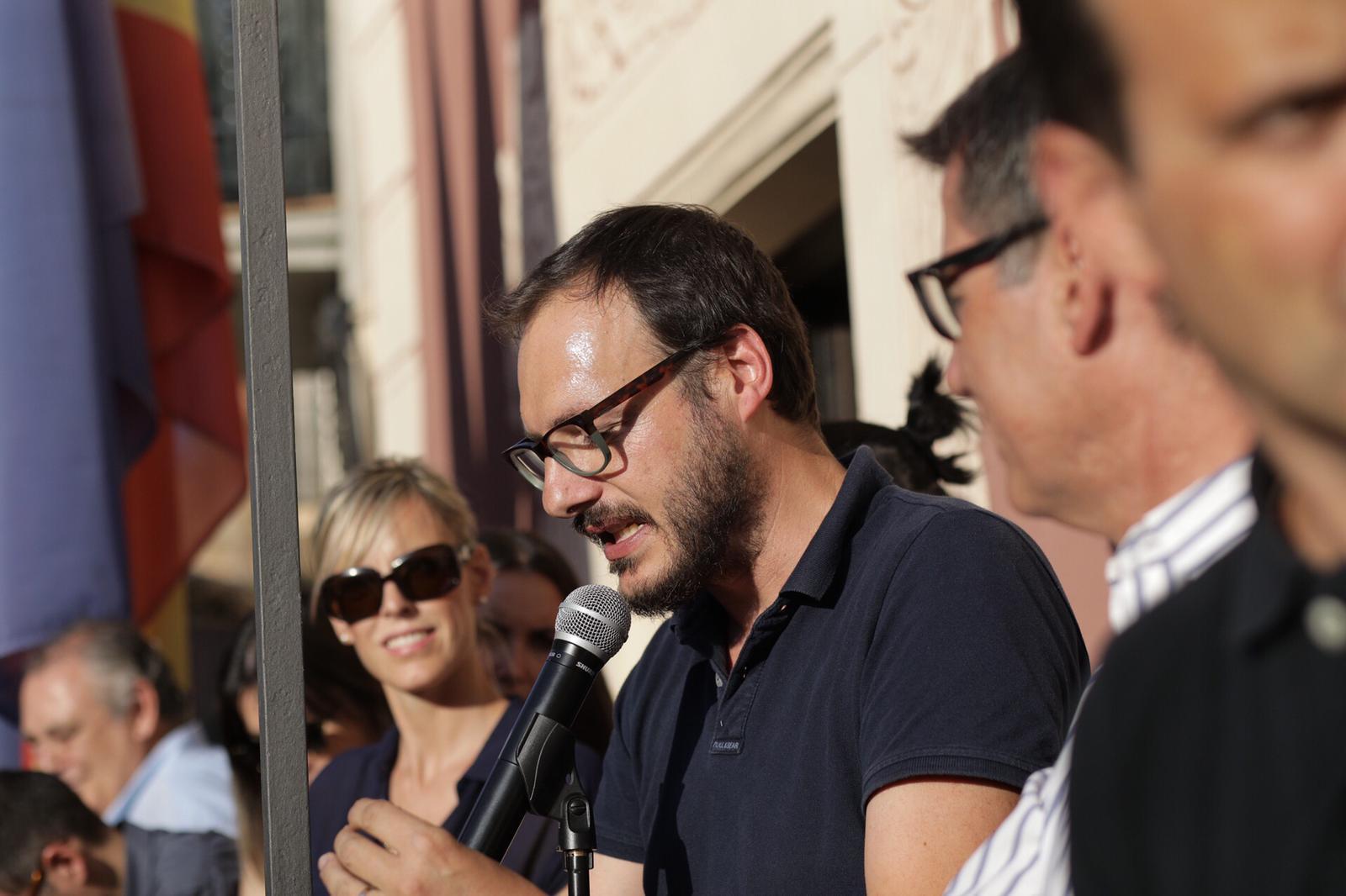 Pregó d'Oriol Malet. Festa Major 2019 (Fotografia: Cristina Sánchez)