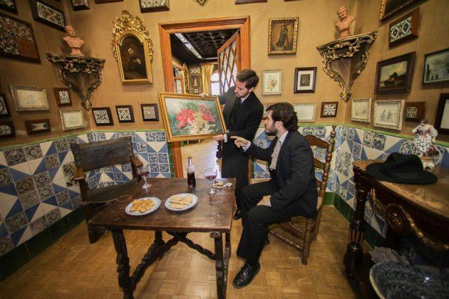 Visites Teatralitzades a l'Enrajolada. Fseta Major 2019. (Fotografia: Cristina Sánchez)