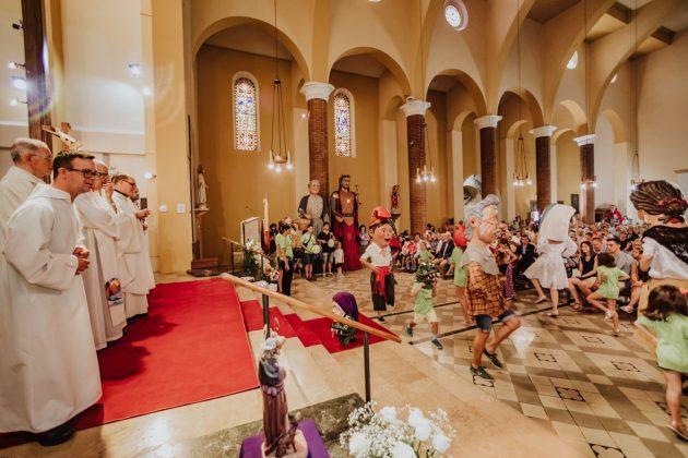 Missa Solemne a Santa Maria. Festa Major 2019 (Fotografia Cristina Sánchez)