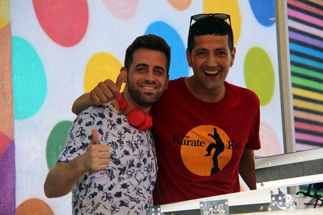 DJ Jonathan i DJ Pablo Picón. Holi Festival. Festa Major 2019