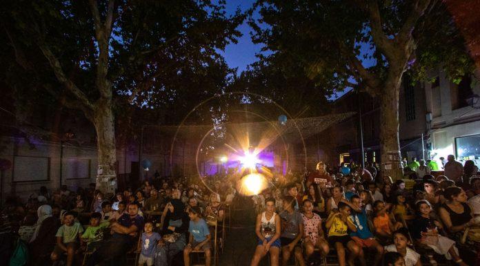 Cinema a la Fresca. Festa Major 2019 (Fotografia: Grisphoto)