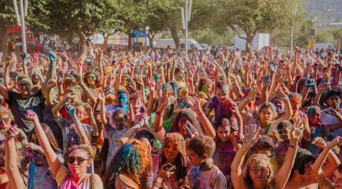Holi Festival. Festa Major 2019 (Fotografia: Grisphoto)