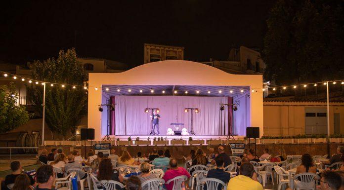 Monoloaddictes amb Agustín Durán. Festa Major 2019 (Fotografia: Grisphoto)