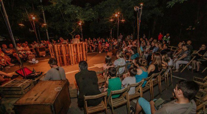Actuació de La Industrial Teatrera. Festa Major 2019 (Fotografia: Grisphoto)