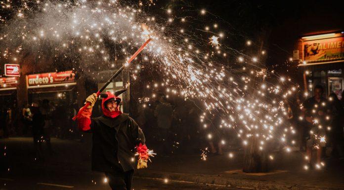 Correfoc. Festa Major 2019 (Fotografia: Grisphoto)