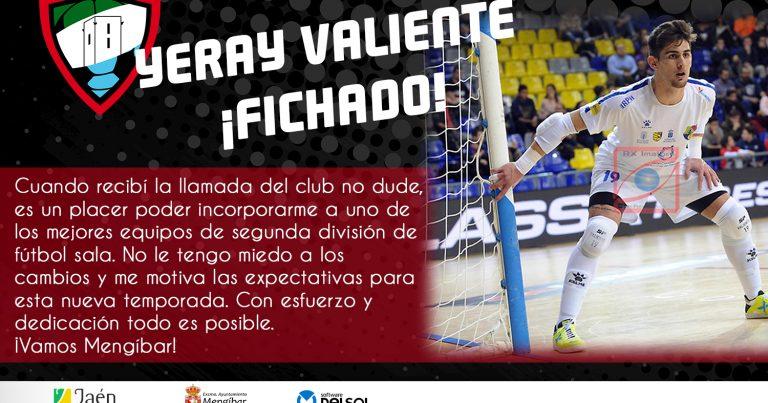 Fitxatge de Yeray pel Mengíbar (Foto: atleticomengibar.com)
