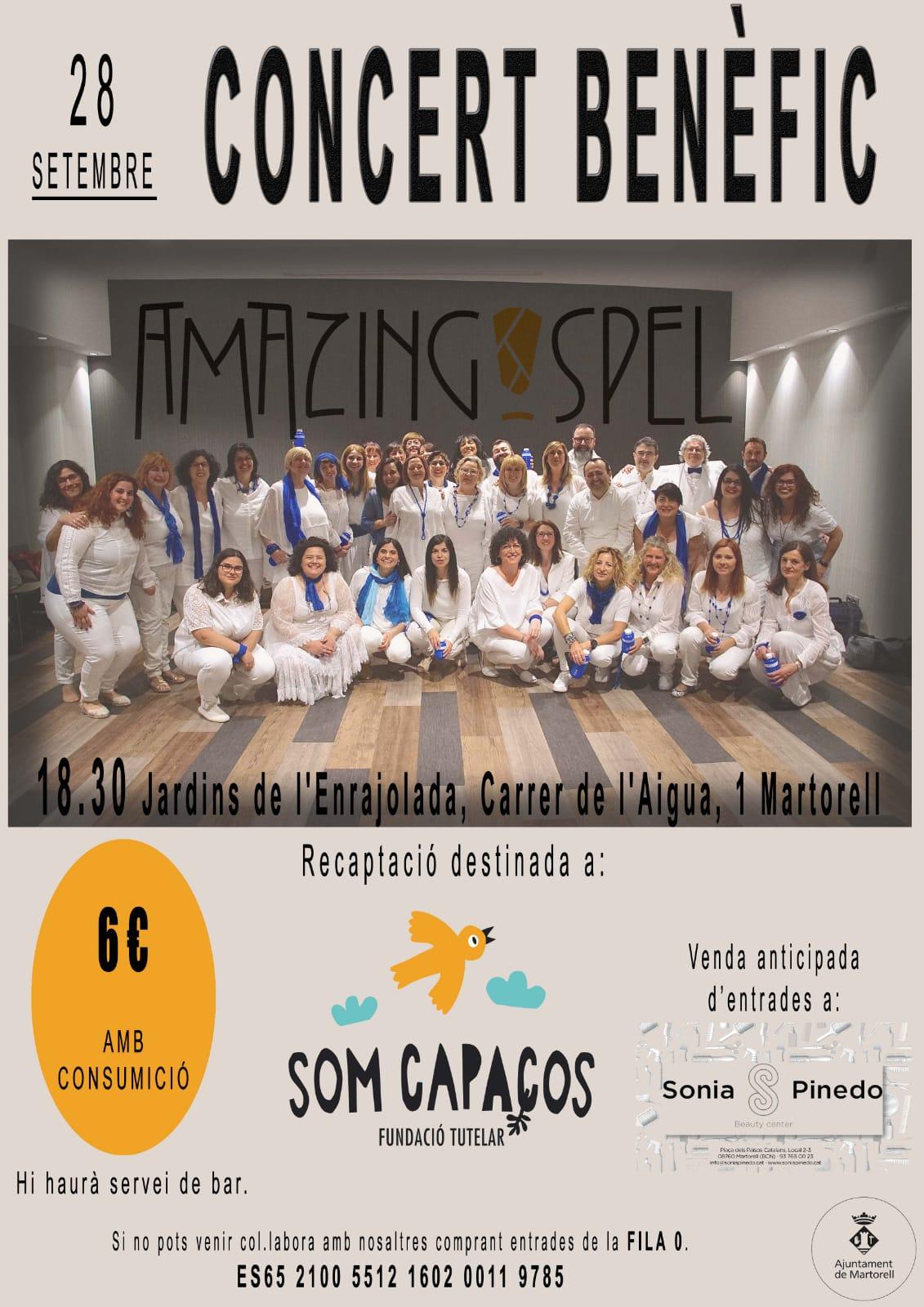 Concert Benèfic 'Amazing gospel'