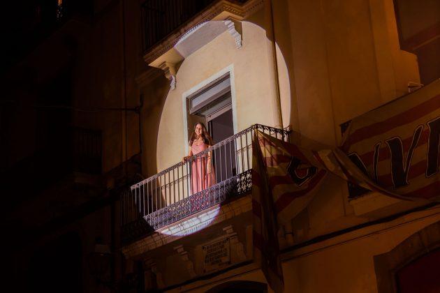 Festa del Roser. Òpera al Balcó, amb Irene Mas (Fotografia: Grisphoto)