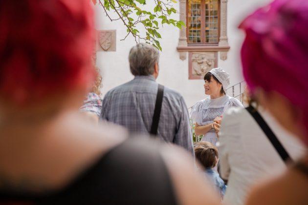 Festa del Roser. Visites teatralitzades. (Fotografia: Grisphoto)