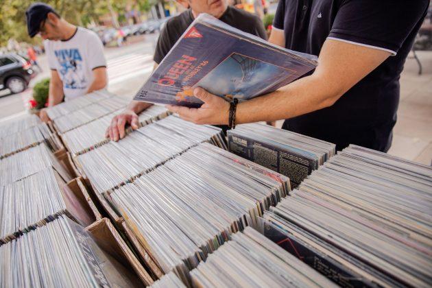 Festa del Roser. Fira del Disc. (Fotografia: Grisphoto)