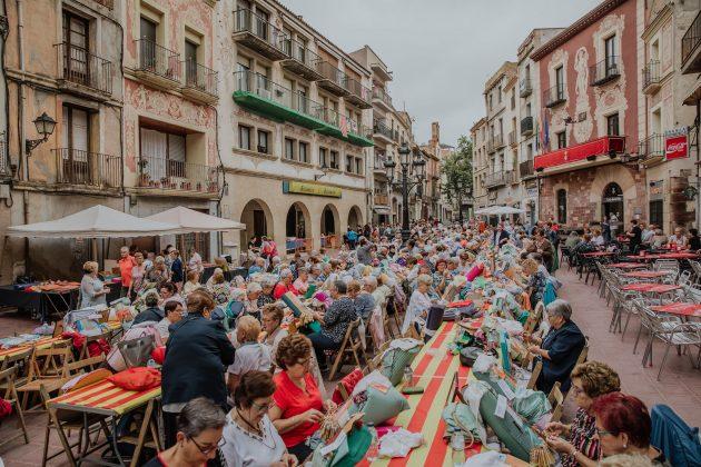 Festa del Roser. Trobada de Puntaires. (Fotografia: Grisphoto)