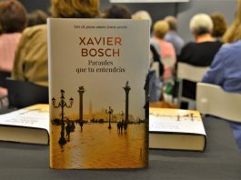 Presentació 'Paraules que tu entendràs' de Xavier Bosch