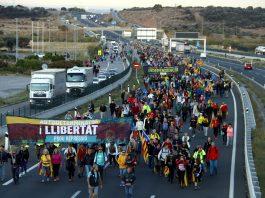 Marxa per la Llibertat. Foto: Infoanoia.cat