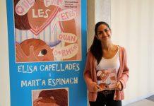 Elisa Capellades, autora de 'Què fan les tetes quan dormen?'