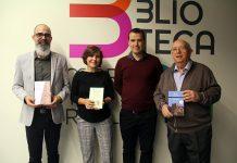 Presentació dels llibres del Premi Vila. Palazón, López, González i Soler