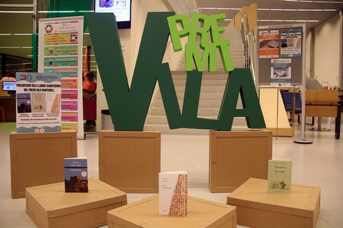 Presentació dels llibres del Premi Vila