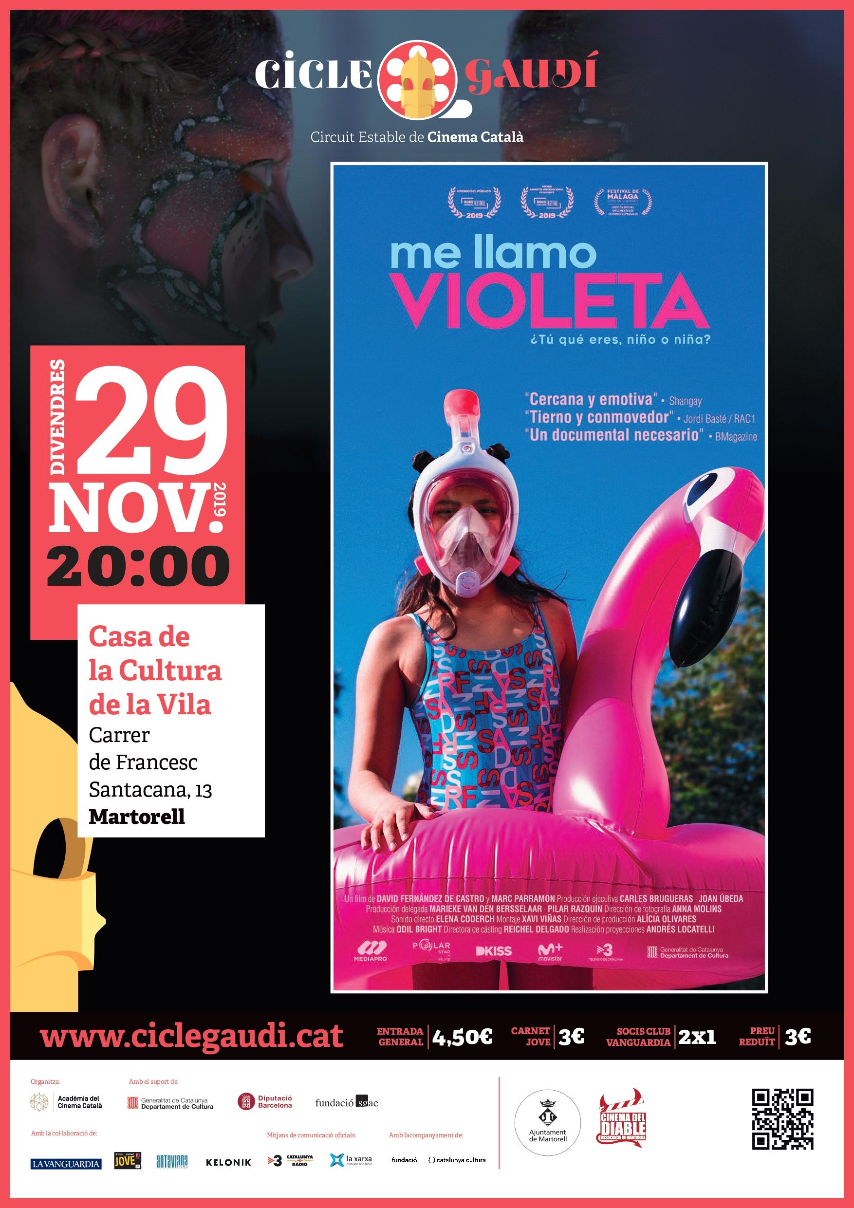 'Me llamo Violeta'