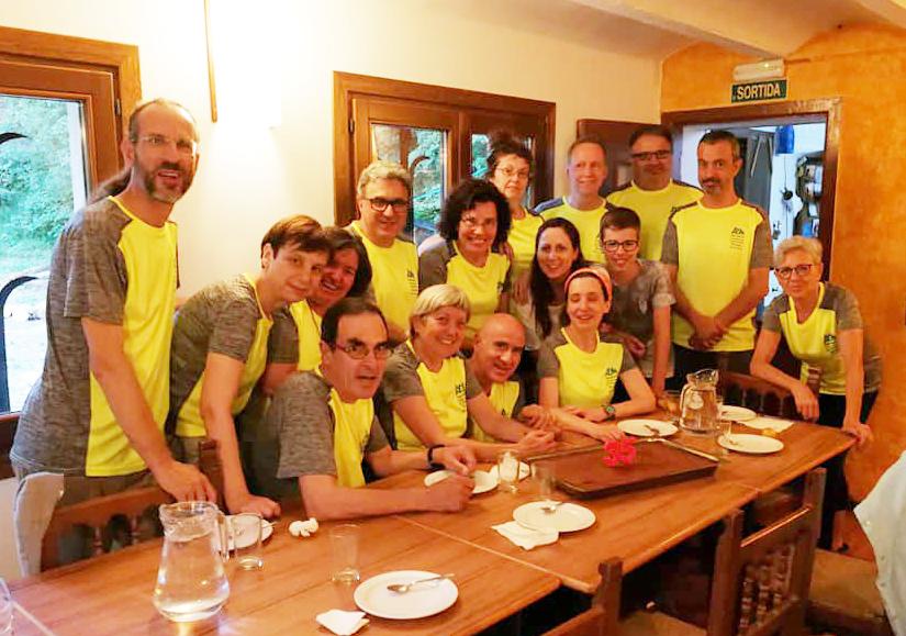 Celebració dels 35 anys de l'Agrupació Excursionista de Martorell