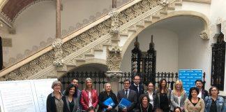 Signatura Declaració de Colònia al Palau Macaya