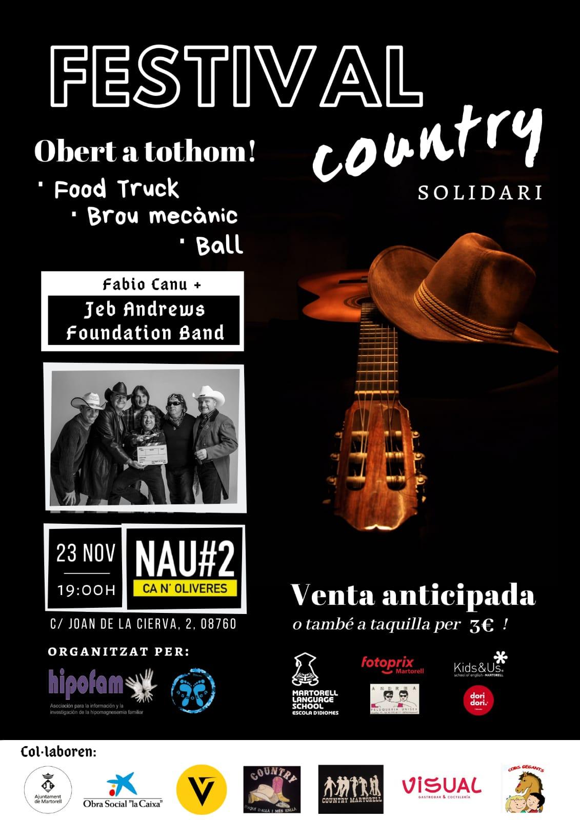 Festival solidari country