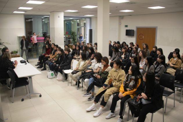 Intercanvi cultural d'alumnes de Gun San amb l'Institut Pompeu Fabrampeu Fabra