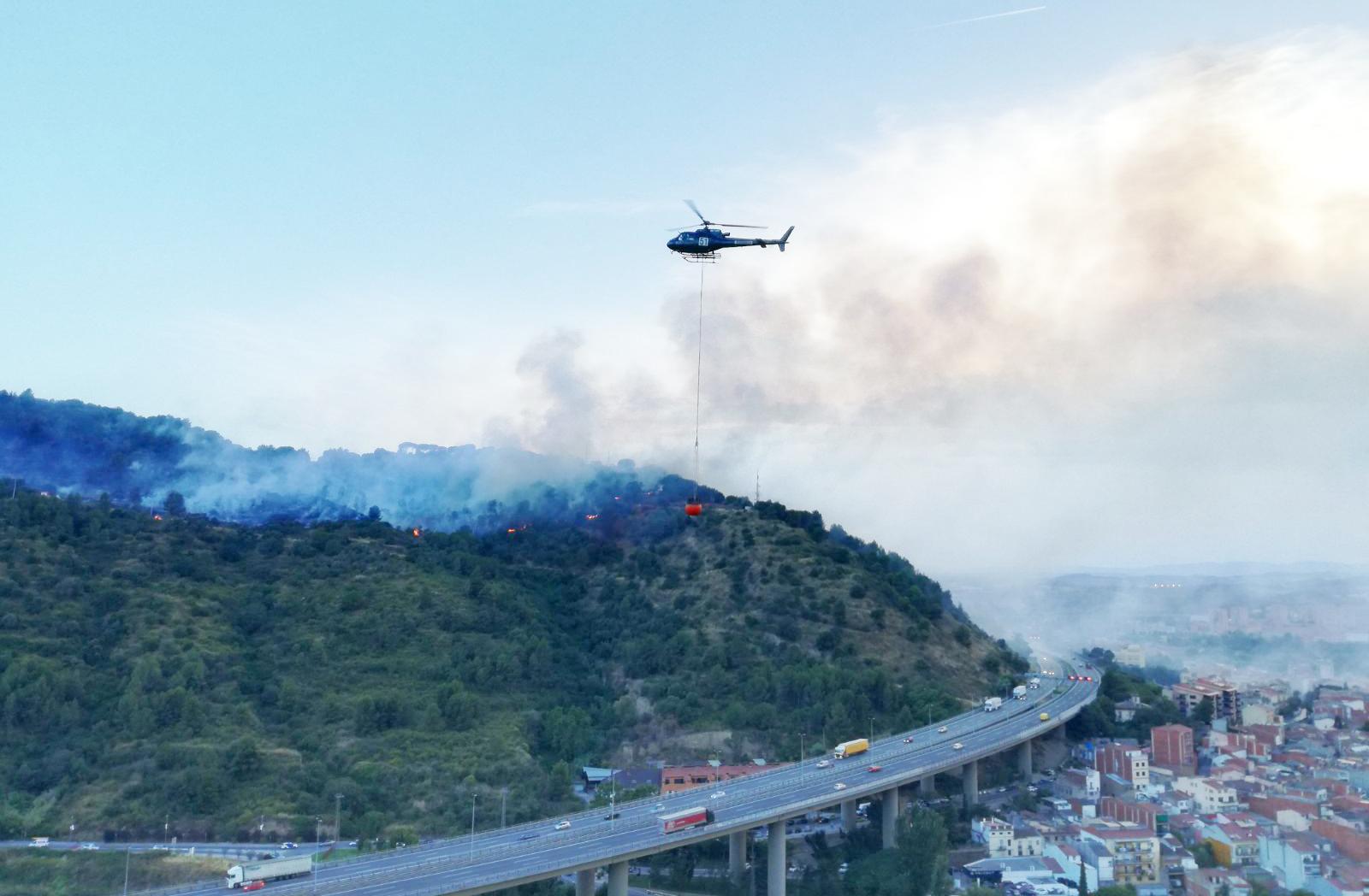 Incendi al Congost. Juliol de 2017