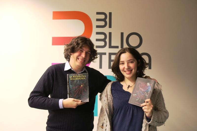 Presentació del pròleg de 'La matemàtica de la història'. Max Pérez i Alba Padrós