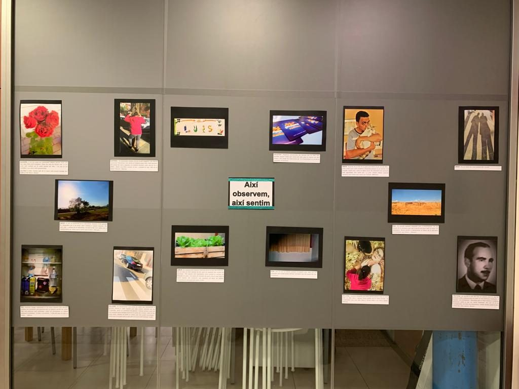 Inauguració de l'exposició fotogràfica Llar-Residència Torrent de Llops