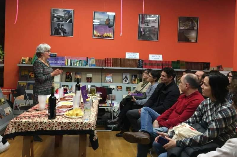 Presentació de 'Este es el libro de la portada verde' a la Deusto Liburudenda el passat 28 de novembre