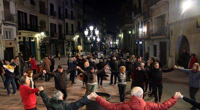Festa de Sant Antoni Abat. Sardanes