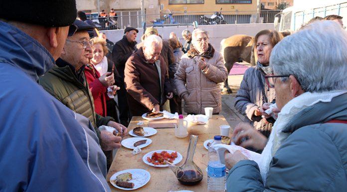 Festa dels Tres Tombs. Esmorzar traginer