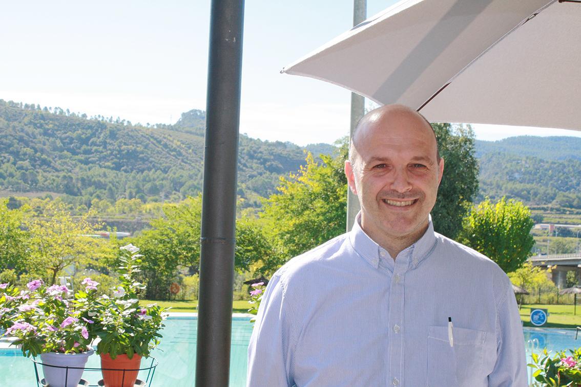 Jordi Bartés, gerent del restaurant Aqqua