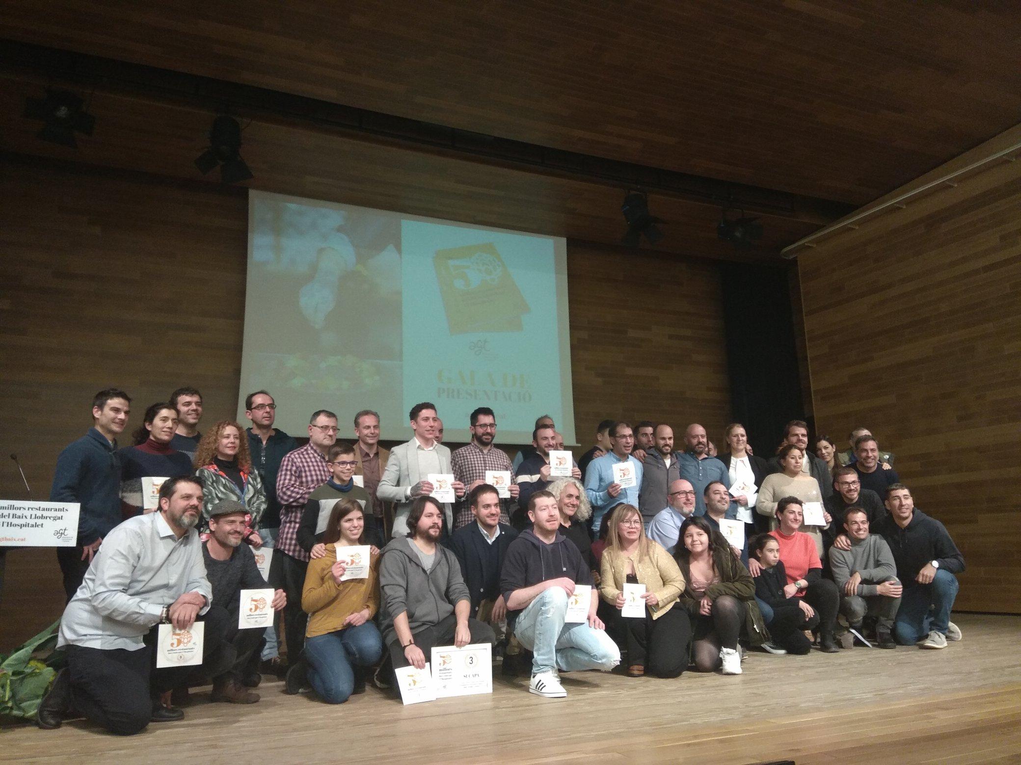 Gala de presentació de la guia 'Els 50 millors restaurants del Baix Llobregat i l'Hospitalet'