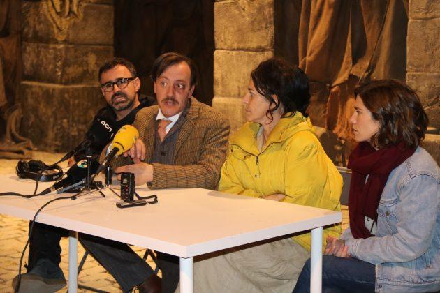 Roda de premsa 'La vampira de Barcelona'