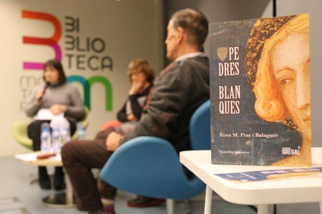 Presentació del llibre 'Pedres Blanques', de Rosa Maria Prat